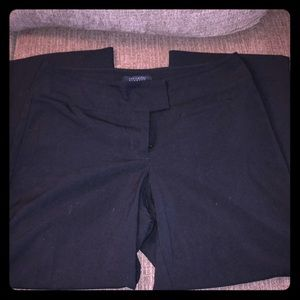 Women's The Limited Stretch Capris Black Size 8